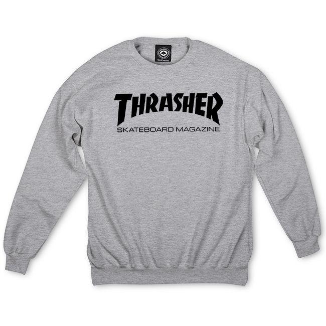 Thrasher | Skate Mag Crewneck (Gray)