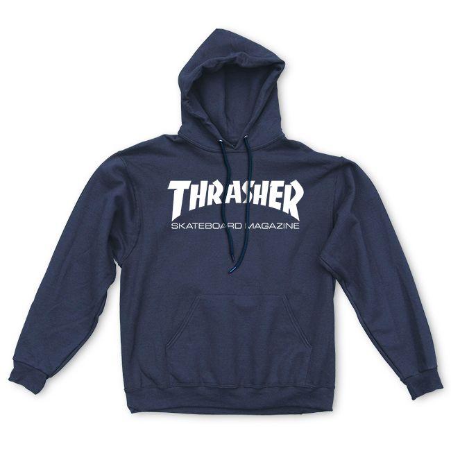 Thrasher | Skate Mag Hood (Navy)