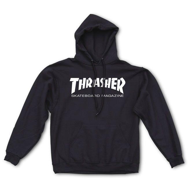 Thrasher | Skate Mag Hood (Black)