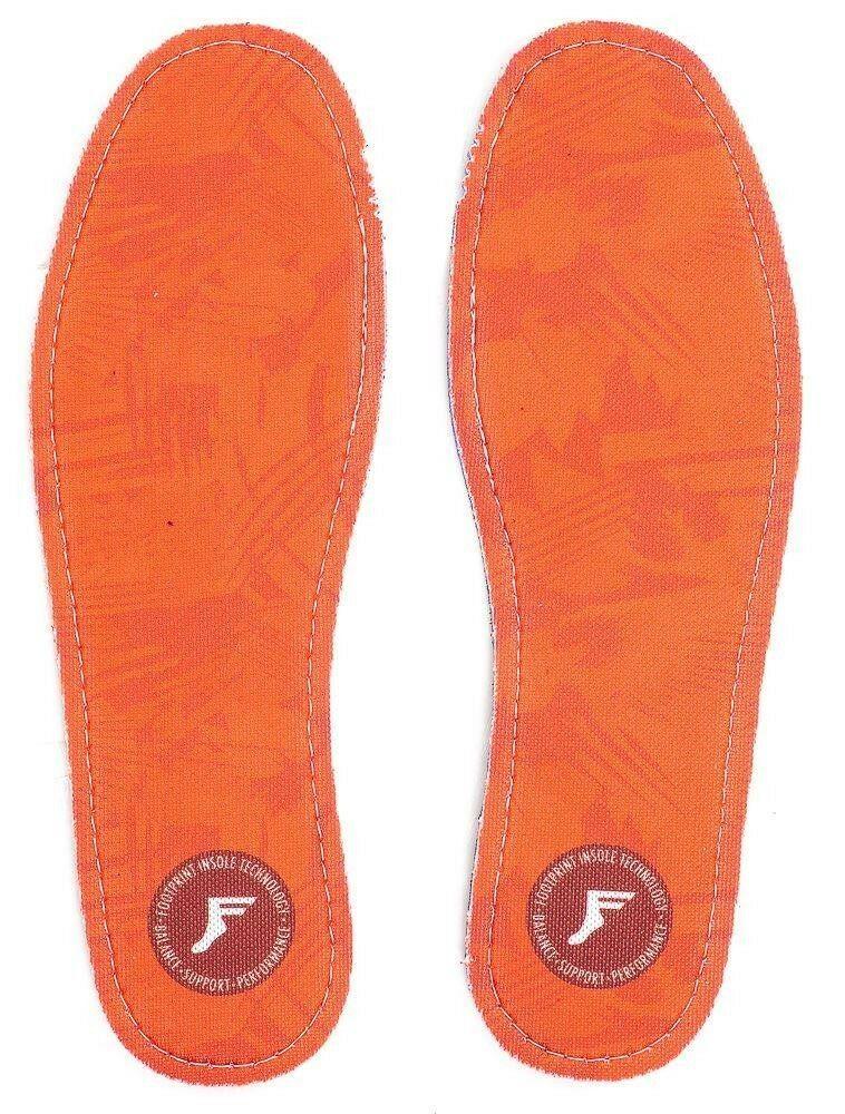 Footprint Insoles | FP Kingfoam Orthotic (Orange Camo)