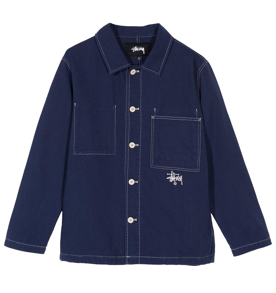 Stüssy | Canvas Shop Jacket (Blue)