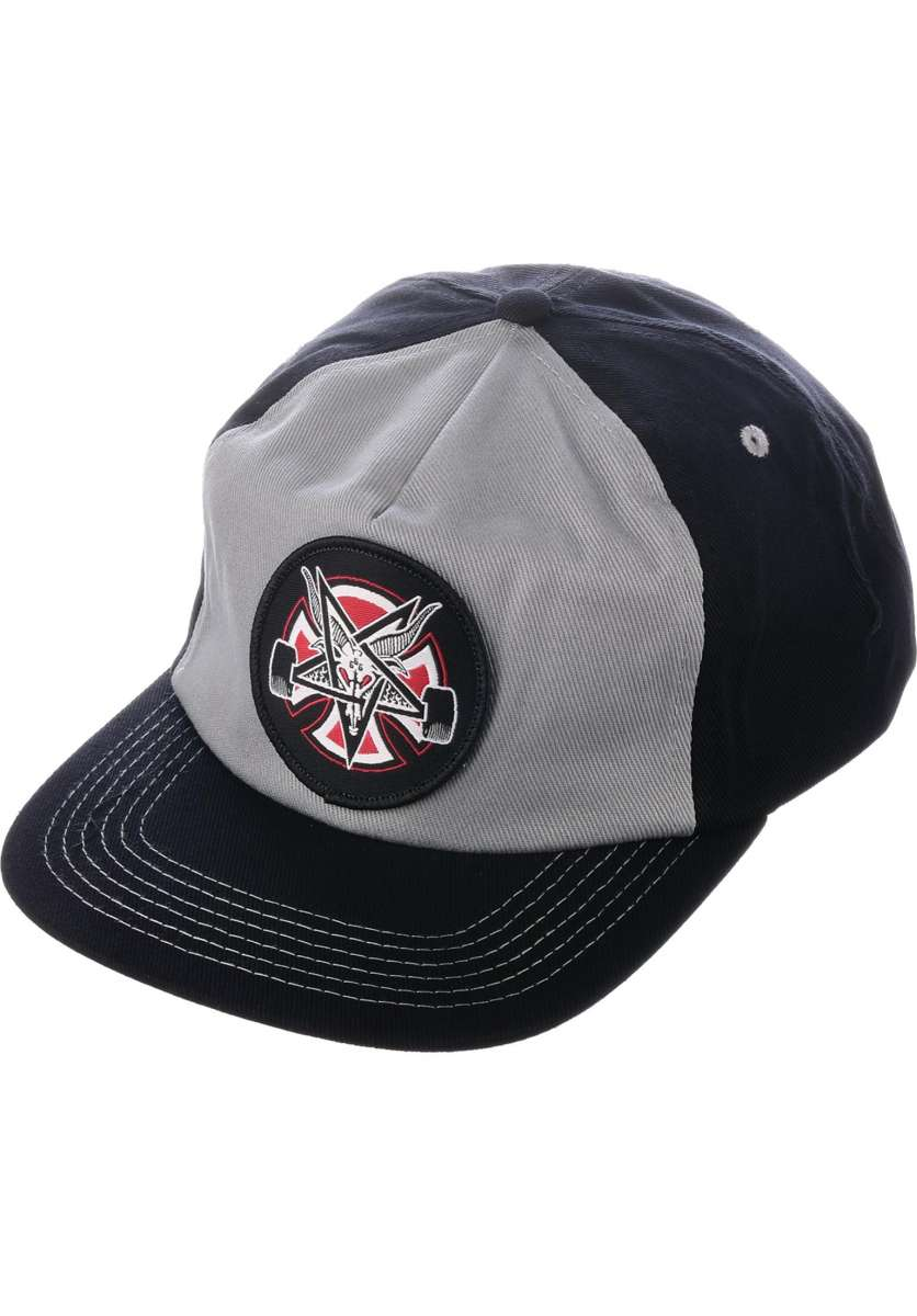 Independent x Thrasher | Pentagram Cross (Grey-Black)