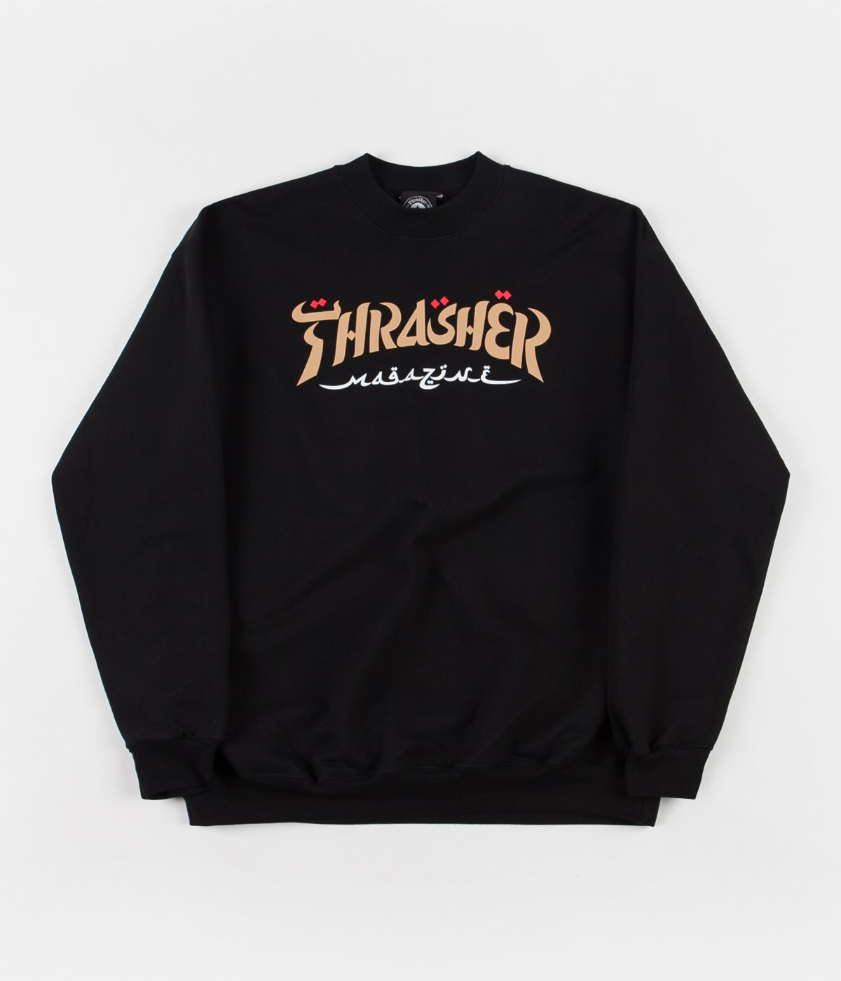 Thrasher | Calligraphy Crewneck (Black)