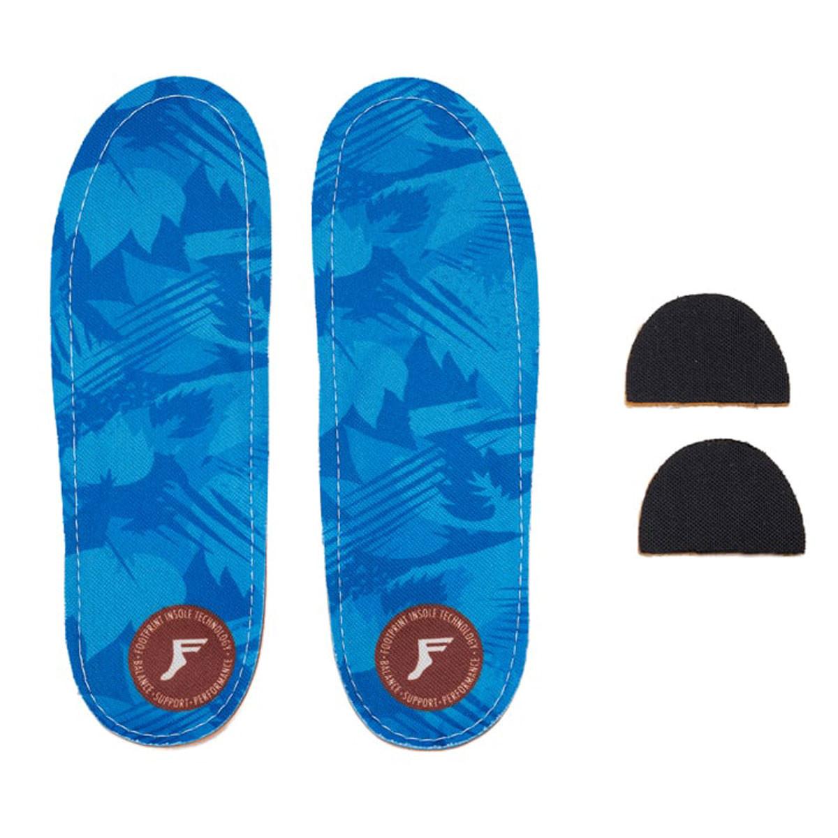 Footprint Insoles | FP Kingfoam Orthotic LOW (Blue Camo)