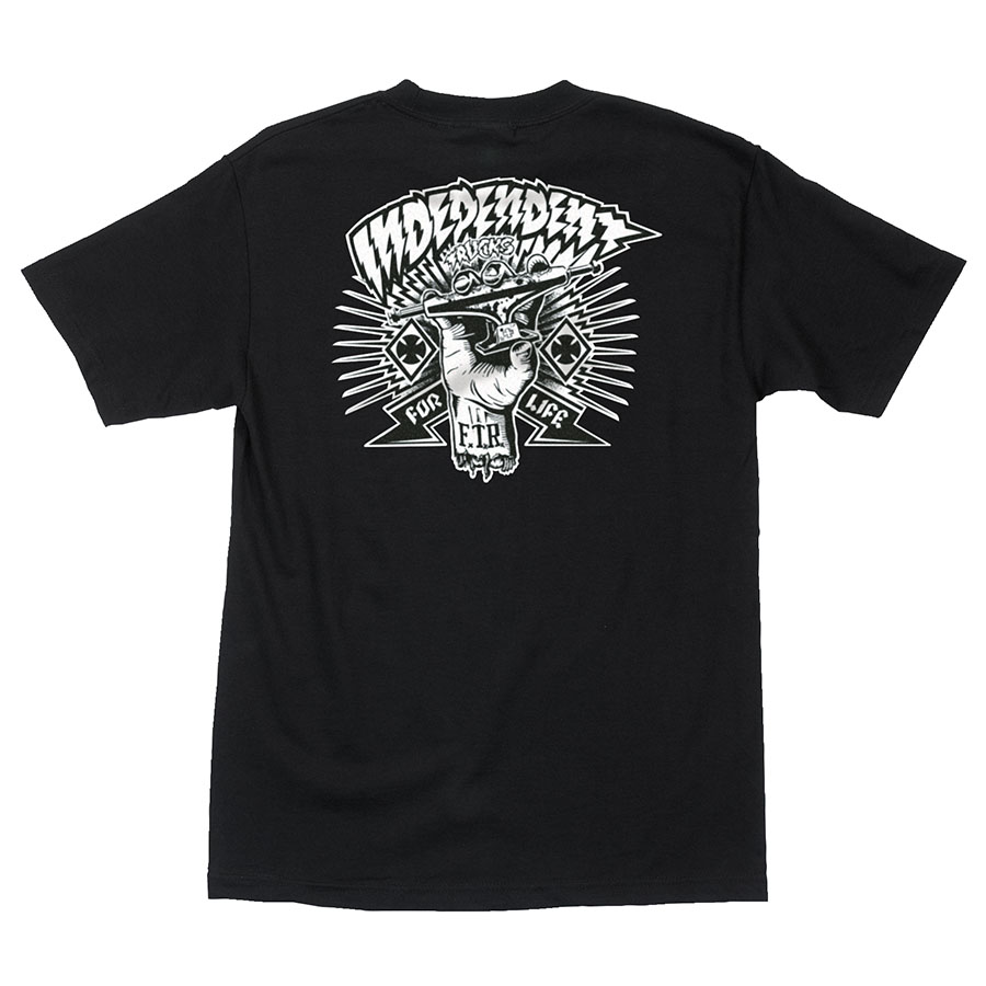 Independent | Ripped T-Shirt (Black)