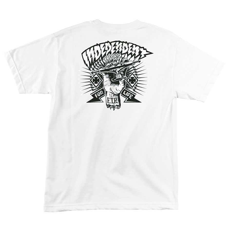 Independent | Ripped T-Shirt (White)