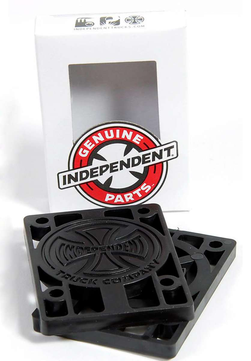 Independent | Risers 1/4″ (Hard)