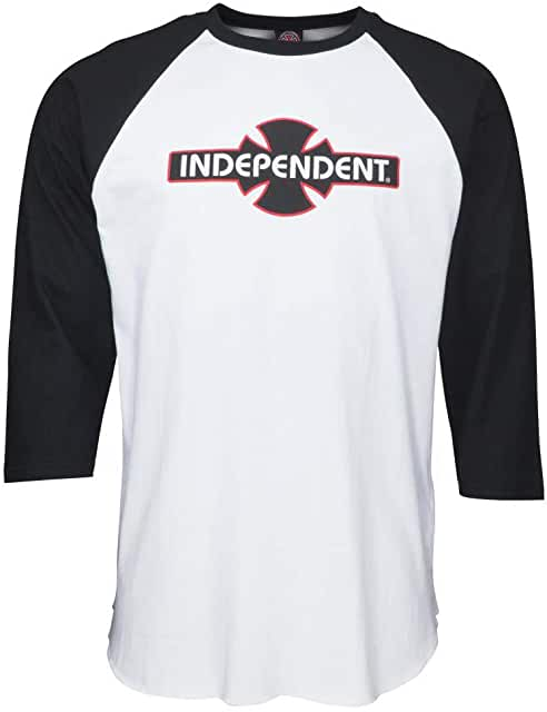 Independent | O.G.B.C 3/4 Baseball Raglan Tee (Black/White)