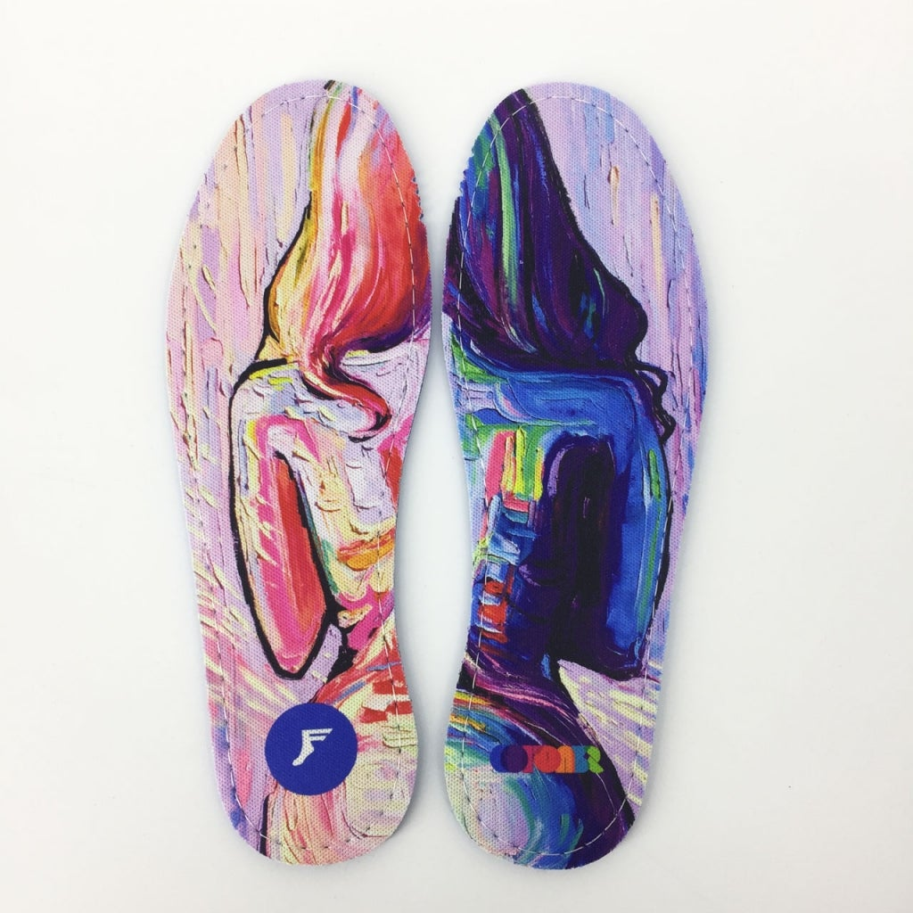 Footprint Insoles | FP Flat Insole 5mm (Colours Collectiv Hoefler)