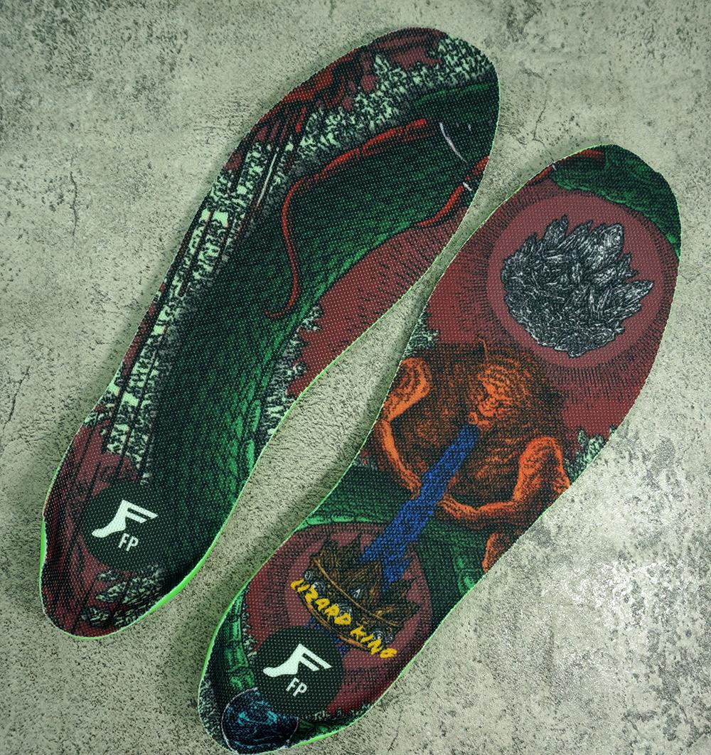 Footprint | FP Moldable High Profile Kingfoam Elite Insoles (Lizard King)