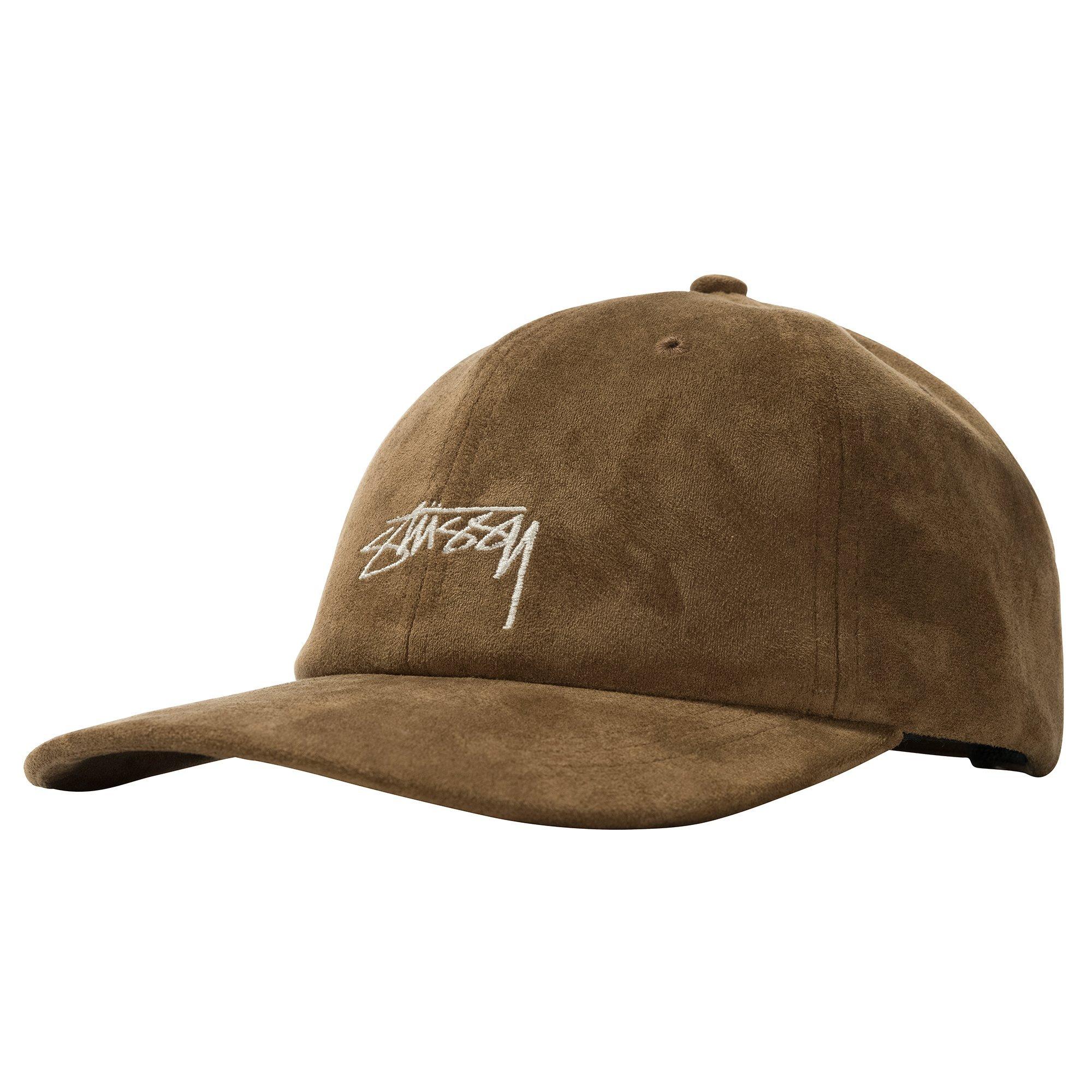 Stüssy   Microfiber Low Pro Cap (Brown)