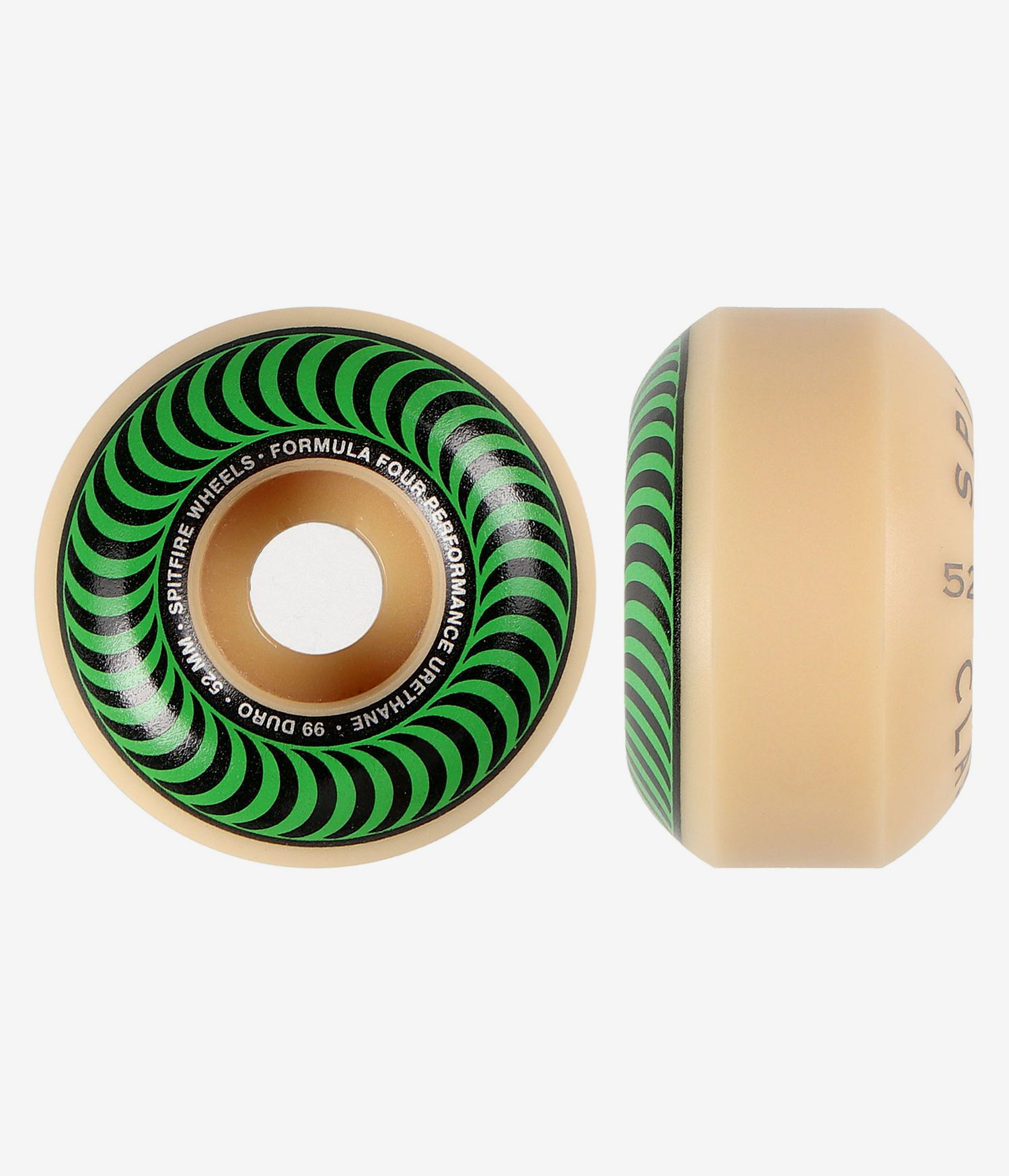 Spitfire | Formula Four 99A Classic Green Wheels 52mm